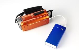 GZ-R300とバッテリー