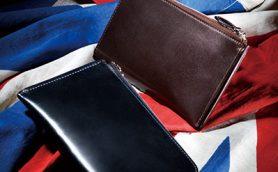 極限の薄さでポケットにもするりと収まる! 最高級馬革「シェルコードバン」の薄財布