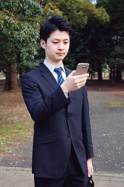 ↑サクサクと快適にマルチタスク操作が可能。 移動の合間にメールを確認したり、地図を利用したりするビジネスマンの強い味方になります