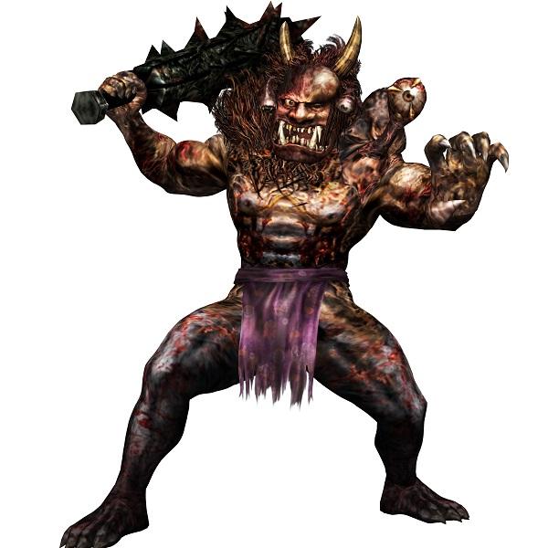 ↑今作で敵として登場するUMAのイメージ。画像は「赤鬼」