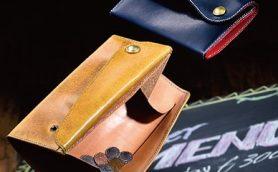 コインがの取り出しやすさに感動! イタリアンレザーのギャルソン財布