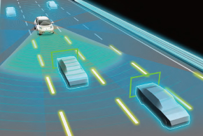 ↑日産の自動運転は、2016年に渋滞路と単一レーンに対応するモデルを発売予定。2018年に高速道路と複数レーンに対応予定だそうです