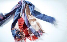 伝統産業の力で福島復興! 願いを込めて織り上げる会津木綿ストール