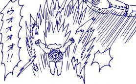 連載漫画「今週のあおむろちゃん」Vol.8「もたれ型」