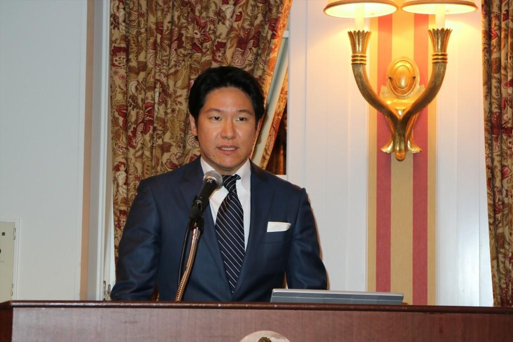 ↑GLM代表取締役社長、小間裕康氏