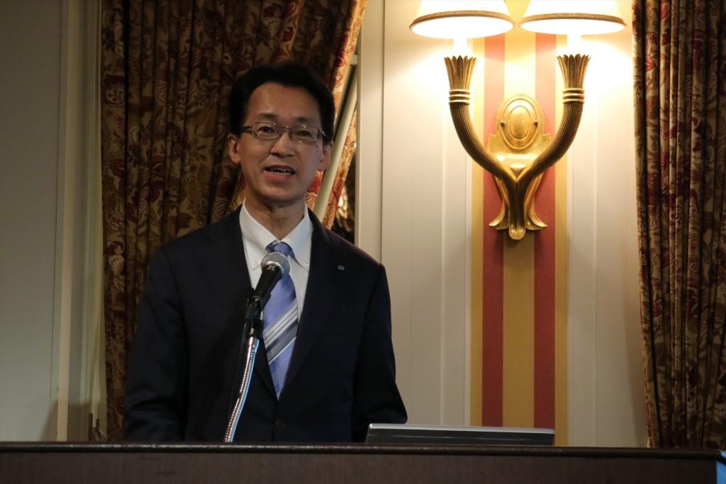↑ローランド代表取締役社長、三木純一さん