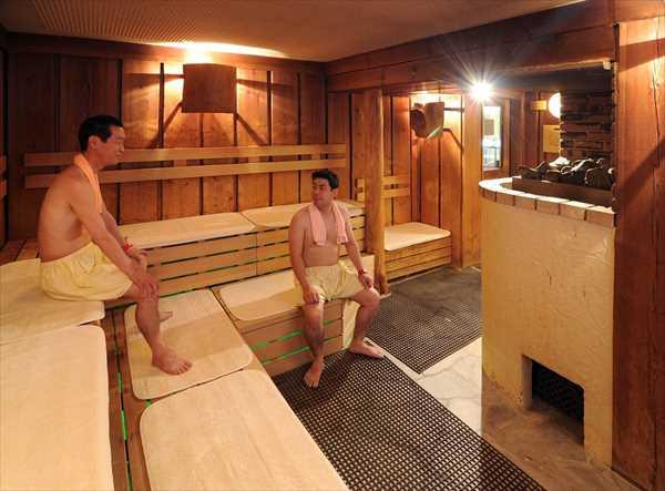 サウナ浴の効能