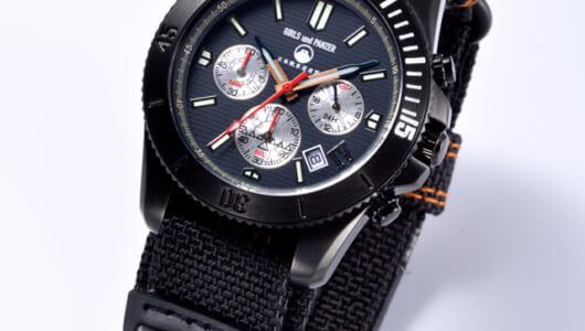 IV号戦車の履帯のモチーフも! 「ガルパン」要素満載の腕時計が大人気!
