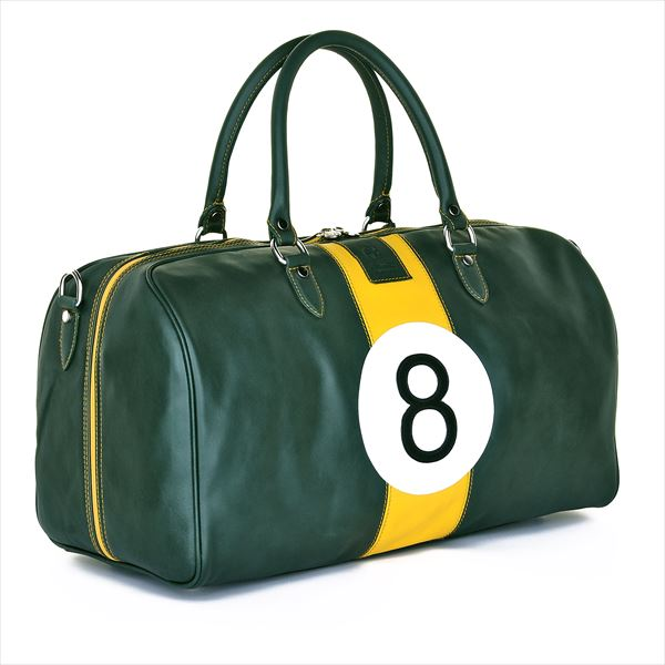 Luxury Leather Lotus Clark 8 Weekend Leather Holdall_R