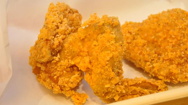 ↑ゼラチン質や脂肪が多く、柔らかい「ウイング」。コラーゲンが豊富で濃厚な味わいです