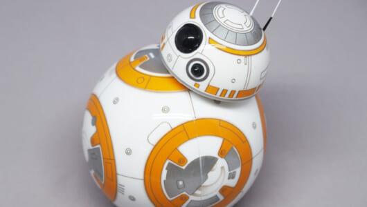 スター・ウォーズ最新作の世界観を先取り! Spheroが作った「BB-8」が超愛くるしい