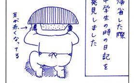 連載漫画「今週のあおむろちゃん」Vol.20「日記」