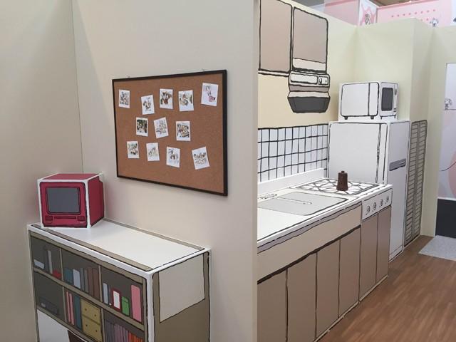 ↑キッチンやリビングなど、ゆのの部屋を細かく再現。その完成度は原作そのもの!
