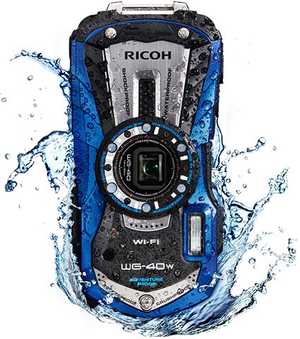 本格防水、耐衝撃、防塵、耐寒を兼ね備えた最強ボディ!