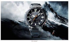 プロ登山家と共同開発した最強のアウトドアウオッチ「CASIO PRX-8000T」登場!【10月30日発売】