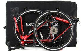ロードバイクブームを後押し! 自転車を入れて持ち運べる専用バッグ