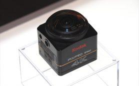 """コダック「PIXPRO SP360 4K」が360度アクションカムの常識を打破! 4K相当動画が撮れるし、""""本当に""""360度撮れるようになった"""