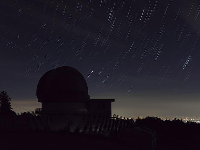 ■DATA 星空軌跡モード 15分露光