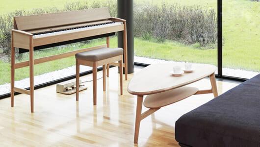 家具としても楽器としても美しい。カリモク家具&ローランドのデジタルピアノ「KIYOLA(きよら)」
