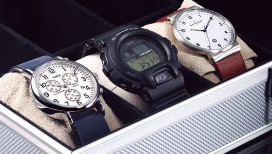 相棒として長く愛せる定番ブランドの良コスパ腕時計【クオーツ編】
