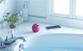 寒い冬はお風呂でまったり音楽を。コンパクトサイズの防水スピーカー4選