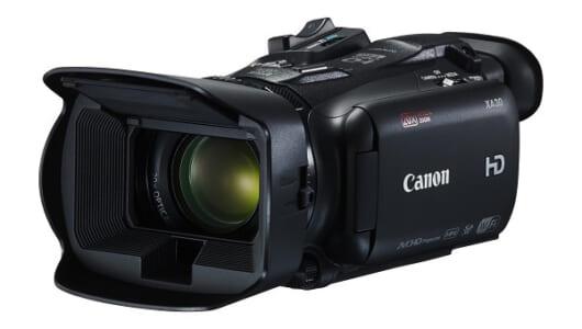 高画質映像が撮影可能な小型フルHDビデオカメラ「キヤノン XA35&XA30」発売