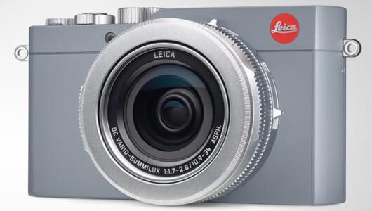 高性能なコンパクトデジカメ「ライカ D-LUX ソリッドグレー」発売