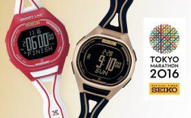 セイコー 「スマートラップ」搭載の東京マラソン2016限定モデル2機種【12月11日発売】