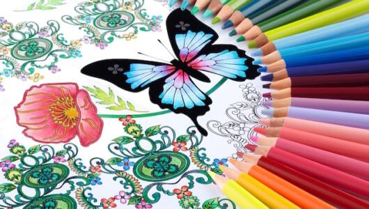 世界中で空前の大ブーム!「大人の塗り絵」をもっと楽しめる「色鉛筆 No.888」の色表現が美しいすぎる