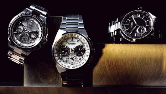 世界レベルの高機能でも軽くて着けやすい! 国産チタン腕時計セレクション【シチズン編】