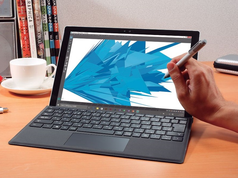 ↑Surface Pro 4