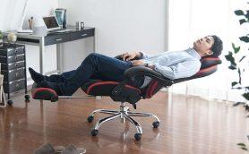 """オフィスワークの疲れを包み込む""""全部入り""""リクライニングチェアが出た!"""