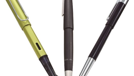年間600万本の筆記具を生産! 機能美あふれるドイツのブランドLAMYの万年筆3モデル