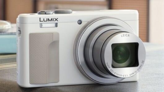 4Kなうえに光学30倍ズーム! 全部入りデジカメ「LUMIX DMC-TZ85」