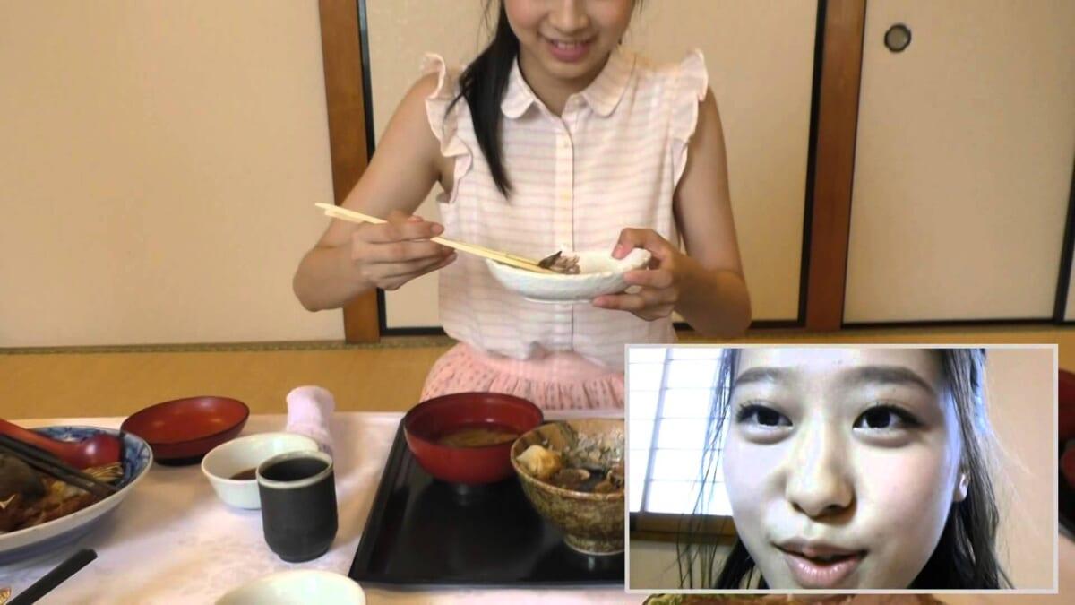 むすめシュラン 10秒食レポ Vol.11【モーニング娘。'15 小田さくら&牧野真莉愛】
