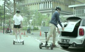 以心伝心のパートナーになれるハイテク自動二輪車「Ninebot mini Pro」【12月4日発売】
