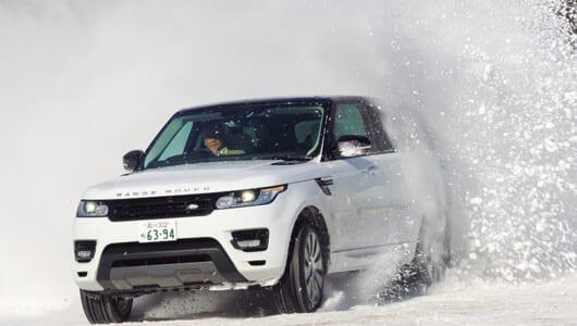 雪上で安心ということはオンロードではより安心ということである【ランドローバー レンジローバー編】