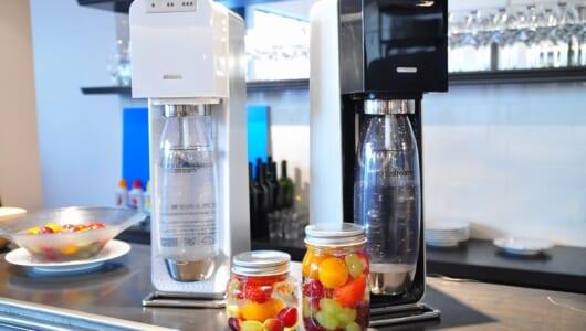 話題の炭酸水マシンで作る新食感フルーツ「しゅわフル」は爽快感がハンパない!