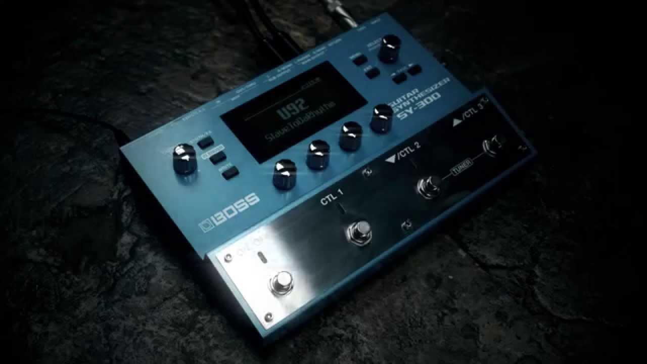 手持ちのギターがシンセサイザーに!  常識破りのBOSS GUITAR SYNTHSIZER「SY-300」