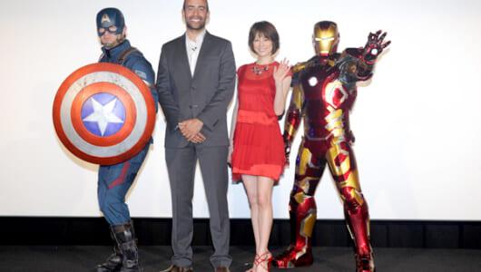 『シビル・ウォー/キャプテン・アメリカ』エグゼクティブ・プロデューサーが米倉涼子を絶賛