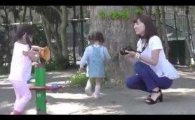 ニコンD5500は、小さくて軽いから子連れのママも使いやすい!
