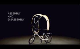スイス生まれの自転車用雨よけシールド「dryve」が日本上陸!