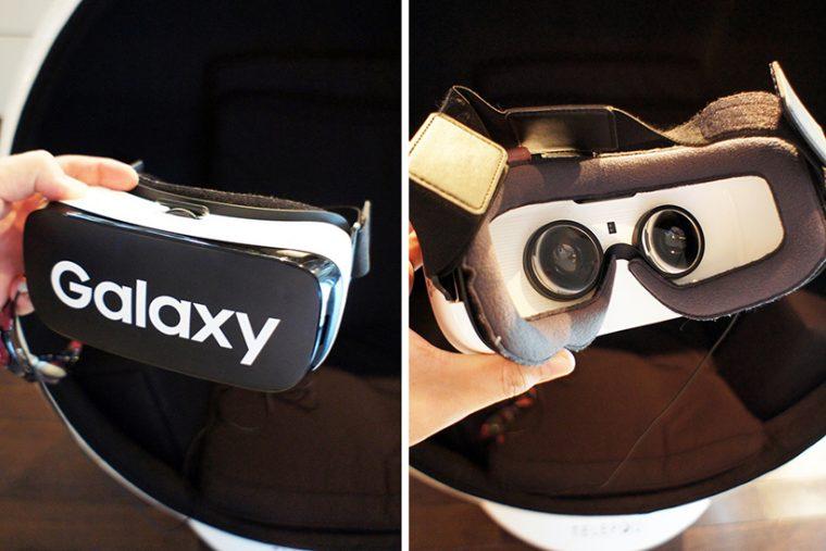 サムスンのHMD「GEAR VR」