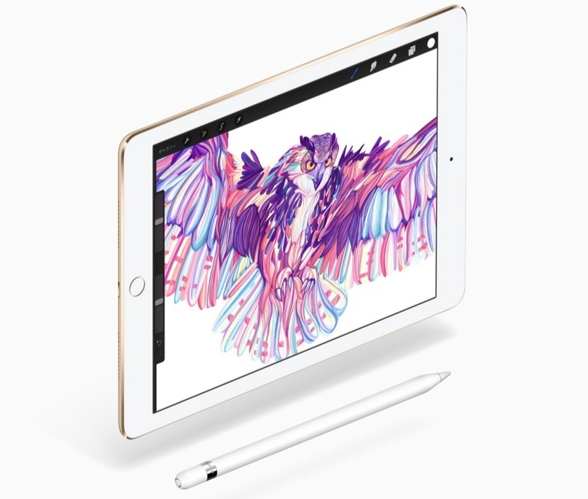 ↑iPad Pro 9.7インチモデル