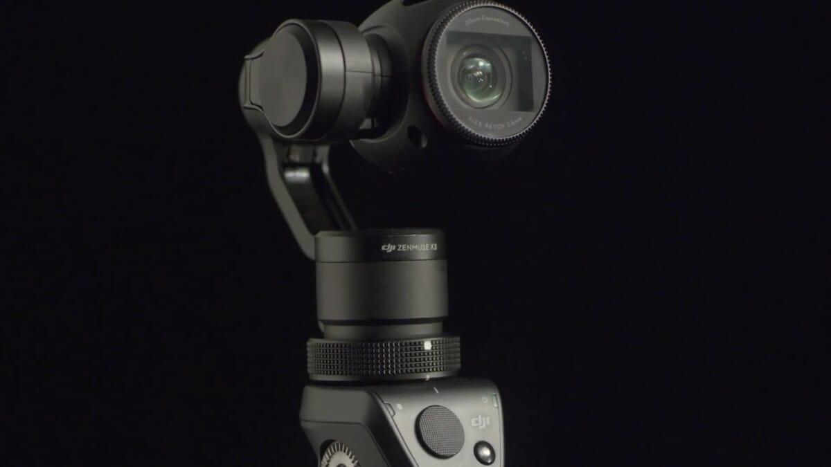究極の手ぶれ防止カメラ「Osmo」にワクワクが止まらない
