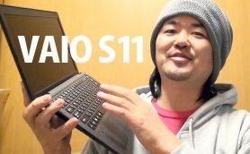 大人気YouTuber、ジェットダイスケさんが「SIMフリーノートPC VAIO S11」を使ってみた!