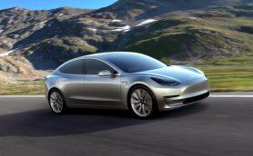 【ニューモデル】これがテスラ流コンパクト! 「モデル3」はフル充電で346kmの走行が可能に