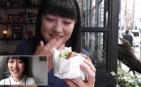 【連載】モーニング娘。'16 工藤 遥&羽賀朱音の10秒食レポ【ハンバーガー編】