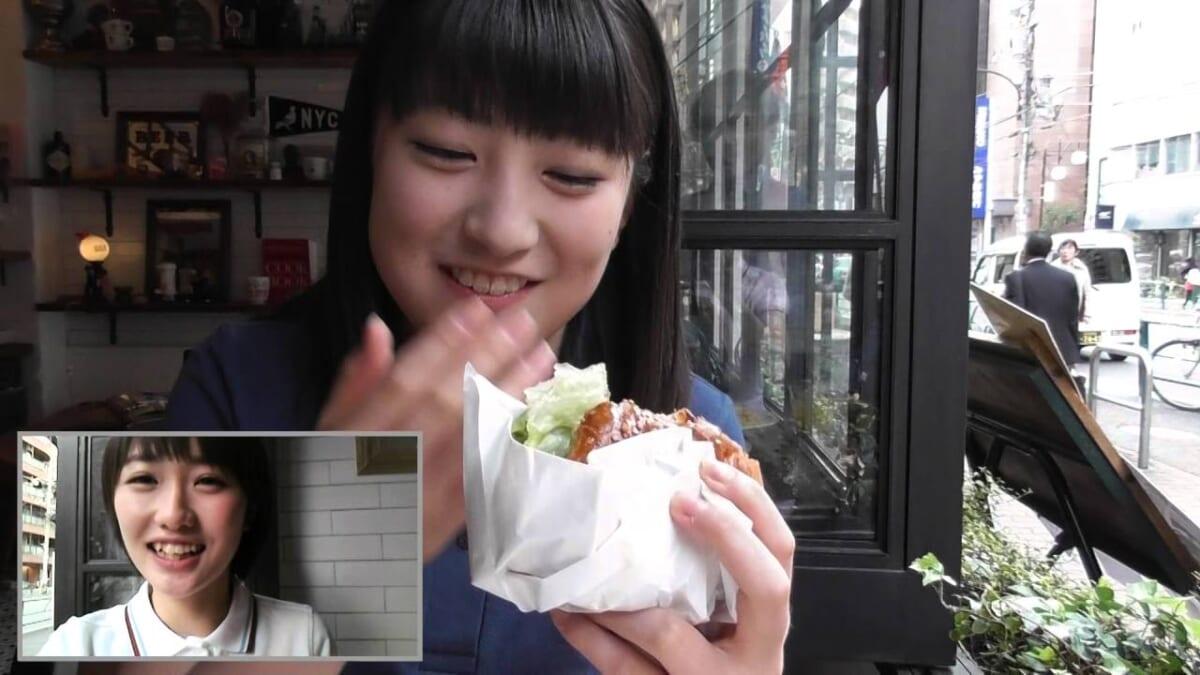 【モーニング娘。'16 工藤 遥&羽賀朱音が10秒食レポ