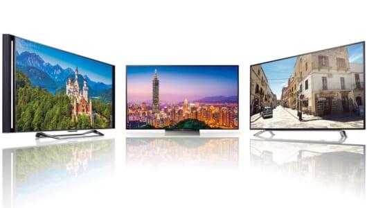 これ見ないでテレビ買っちゃダメ! 国内メーカー5社のオススメモデルを一挙紹介